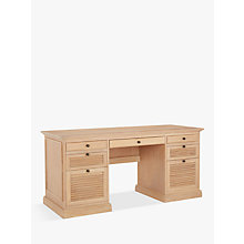 Buy John Lewis Wickham Desk, Oak Online at johnlewis.com