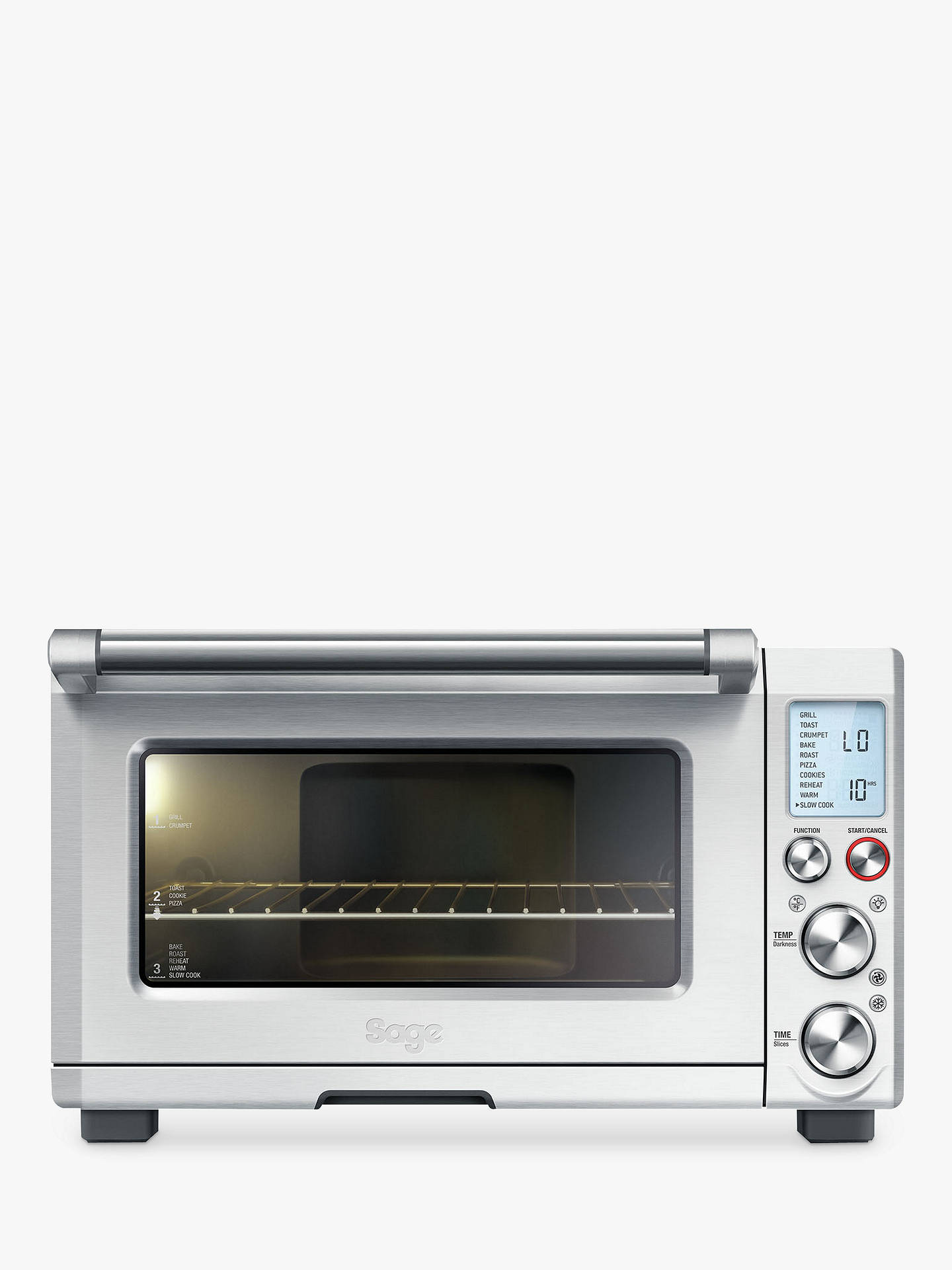 Sage Bov820bss The Smart Oven Pro Silver At John Lewis Partners Cooker Wiring Video Youtube Buysage Online