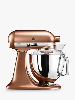 Buy KitchenAid 175 Artisan 4.8L Stand Mixer, Copper Online at johnlewis.com