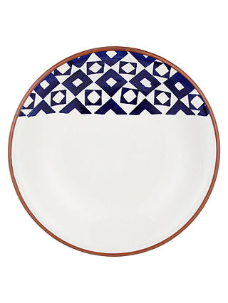 Buy John Lewis & Partners Alfresco Patterned 23.5cm Pasta Bowl Online at johnlewis.com