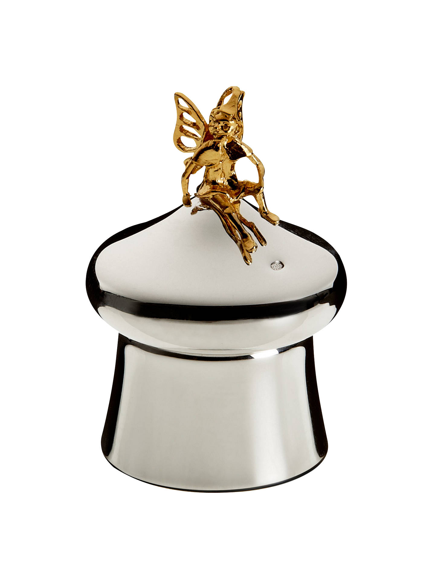 BuyCarrs Tooth Fairy Box, Sterling Silver Online at johnlewis.com