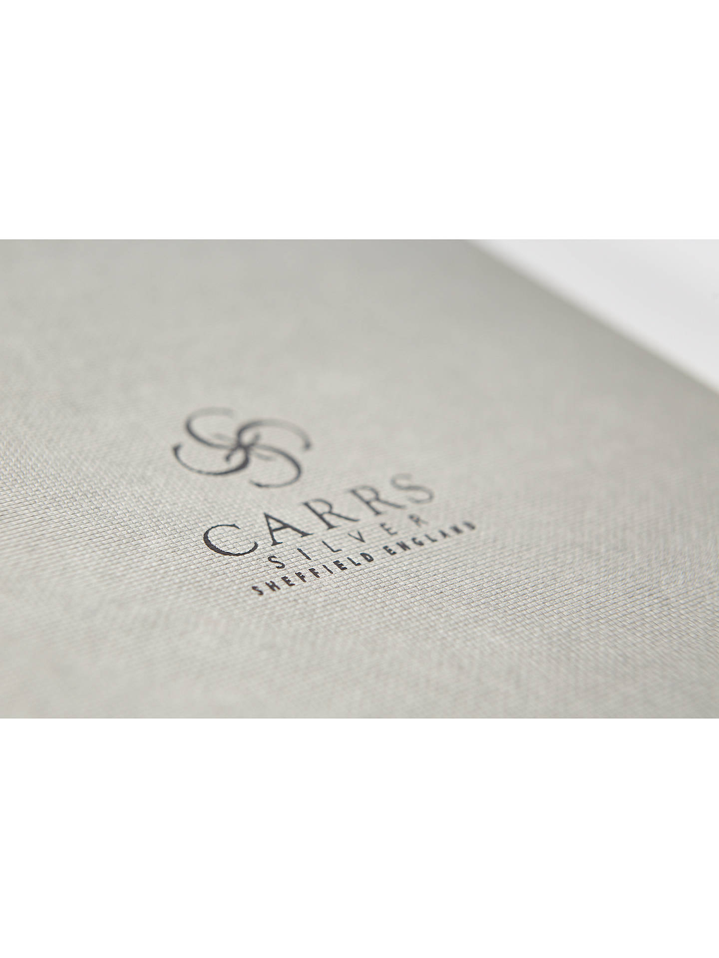 Buy Carrs White Gem Bible, Sterling Silver Online at johnlewis.com