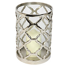 Buy Culinary Concepts Lattice Hurricane Lantern, Large Online at johnlewis.com