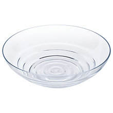 Buy Dartington Crystal Wibble Centrepiece Bowl, Clear Online at johnlewis.com