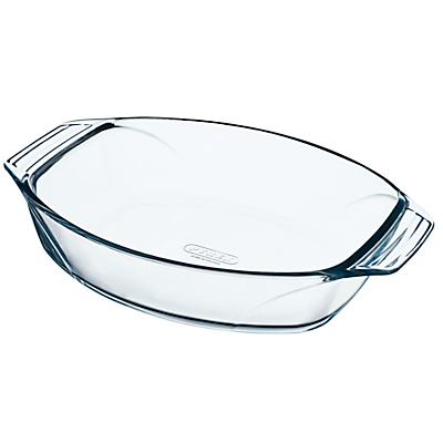 Pyrex Optimum Glass Roaster Oven Dish