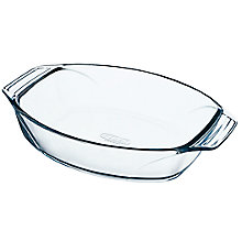 Buy Pyrex Optimum Glass Roaster Oven Dish Online at johnlewis.com