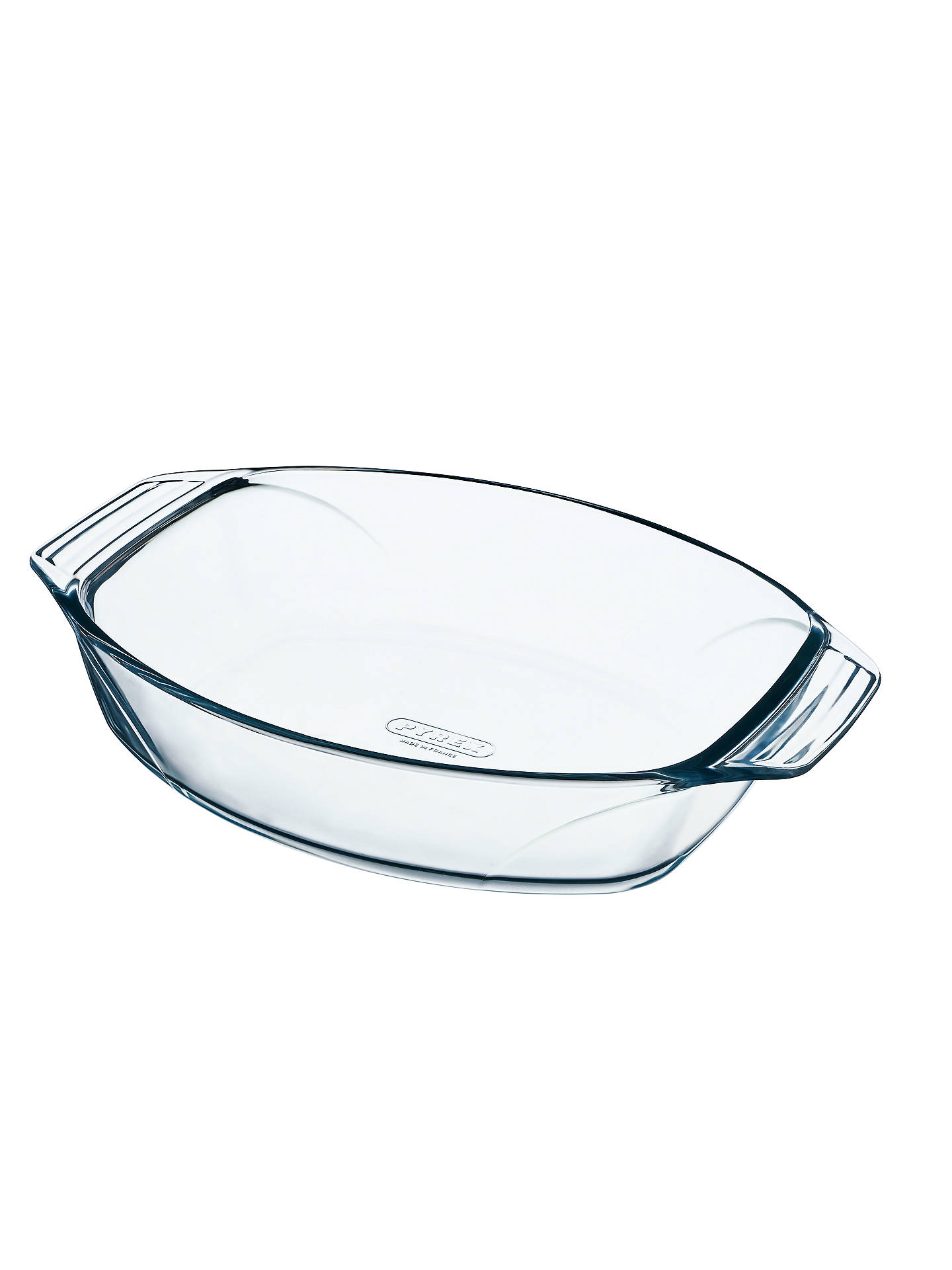 BuyPyrex Optimum Glass Roaster Oven Dish, L30 x W21cm Online at johnlewis.com