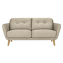 Buy House by John Lewis Arlo Medium 2 Seater Sofa, Light Leg Online at johnlewis.com