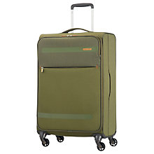 Buy American Tourister Herolite Lifestyle 4-Spinner Wheel 67cm Suitcase Online at johnlewis.com