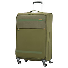 Buy American Tourister Herolite Lifestyle 4-Spinner Wheel 74cm Suitcase Online at johnlewis.com