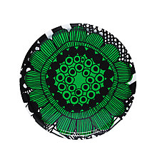 Buy Marimekko Siirtolapuutarha Tray, Green Online at johnlewis.com
