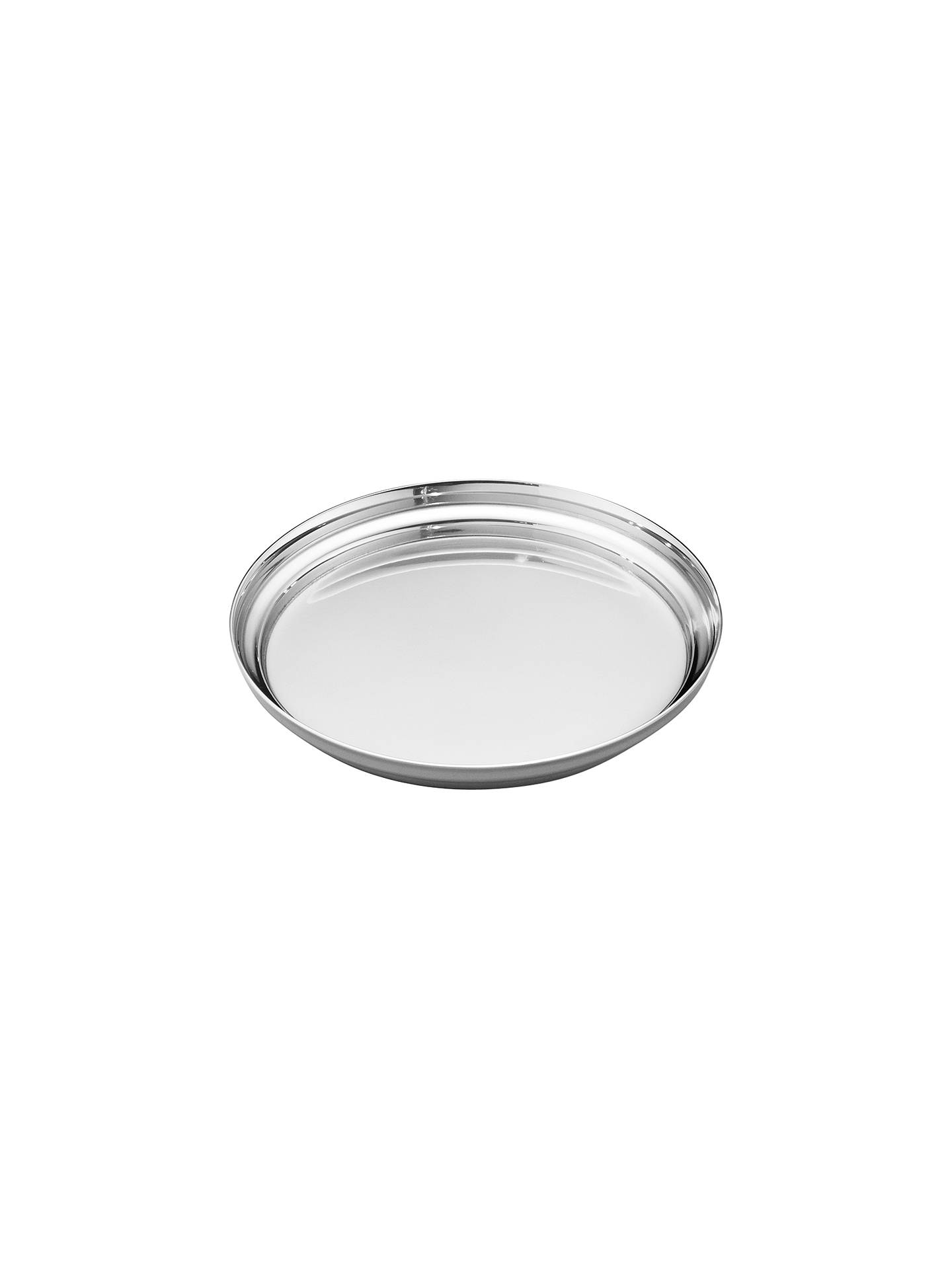 Georg Jensen Manhattan Stainless Steel Wine Glass Coaster