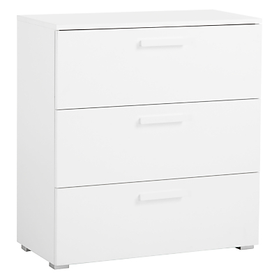 House by John Lewis Felix 3 Drawer Chest, FSC-Certified