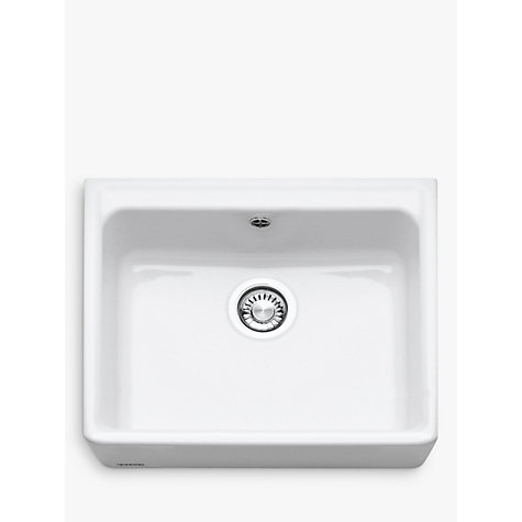Buy Franke Belfast VBK 710 Single Bowl Ceramic Kitchen Sink, White ...