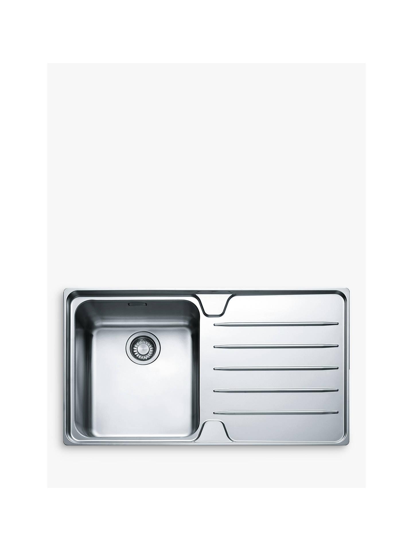 Stainless Steel 1.0 Kitchen Sink Free Waste Kit Precision Plus 100 Brand New