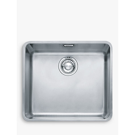 Buy Franke Kubus KBX 110 45 Single Bowl Undermounted Kitchen Sink ...