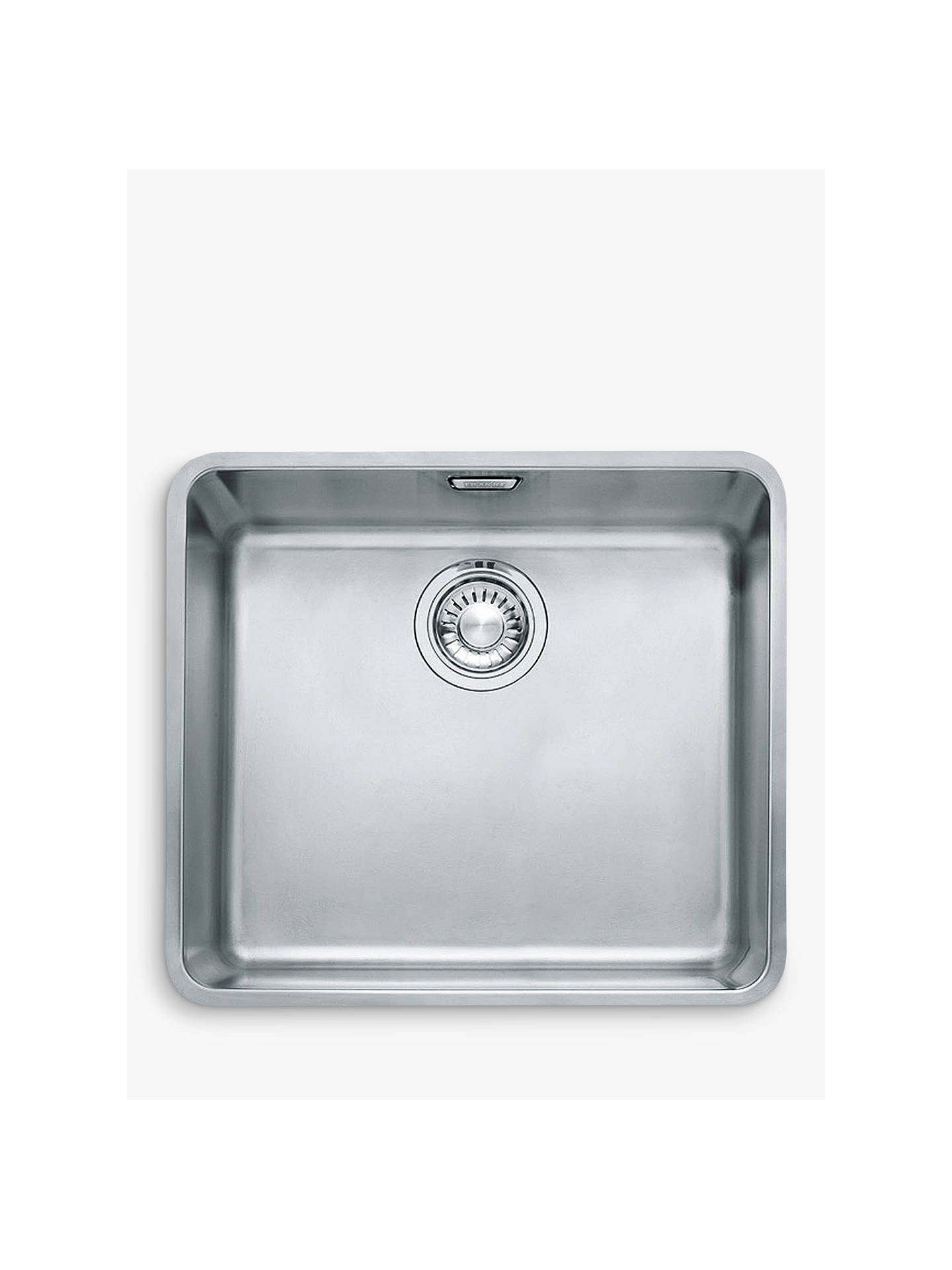 Excellent Franke Kubus Kbx 110 45 Single Bowl Undermounted Kitchen Sink Stainless Steel Home Interior And Landscaping Ologienasavecom