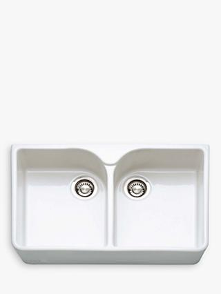Franke Belfast VBK 720 Ceramic Kitchen Sink, White