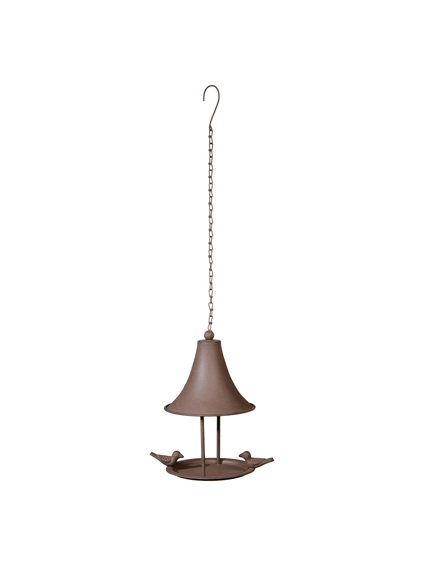 Buy Ivyline Cast Iron Hanging Bird Feeder, Bronze Online at johnlewis.com