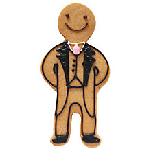 Buy Biscuiteers Gingerbread Groom, 15g Online at johnlewis.com