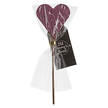 Buy Milk Chocolate Heart With Sprinkles Lolly, 35g Online at johnlewis.com