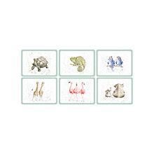 Buy Pimpernel Wrendale Zoological Placemat, Set of 6 Online at johnlewis.com