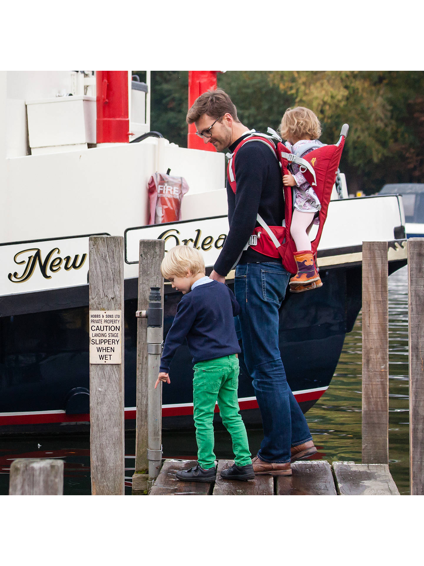 0bee4f79be7 ... Buy LittleLife Ranger S2 Child Back Carrier Online at johnlewis.com