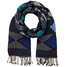 Buy East Aztec Woven Scarf Online at johnlewis.com