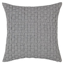 Buy House by John Lewis Checker Cushion Online at johnlewis.com