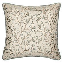 Buy John Lewis Kendal Cushion, Duck Egg Online at johnlewis.com