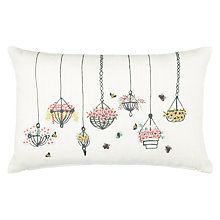 Buy John Lewis Hanging Baskets Cushion Online at johnlewis.com