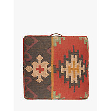 Buy John Lewis Kelim Floor Cushion, Multi Online at johnlewis.com