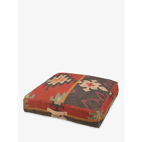 Buy John Lewis Kelim Floor Cushion Multi John Lewis
