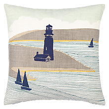 Buy John Lewis Lighthouse Cushion, Multi Online at johnlewis.com