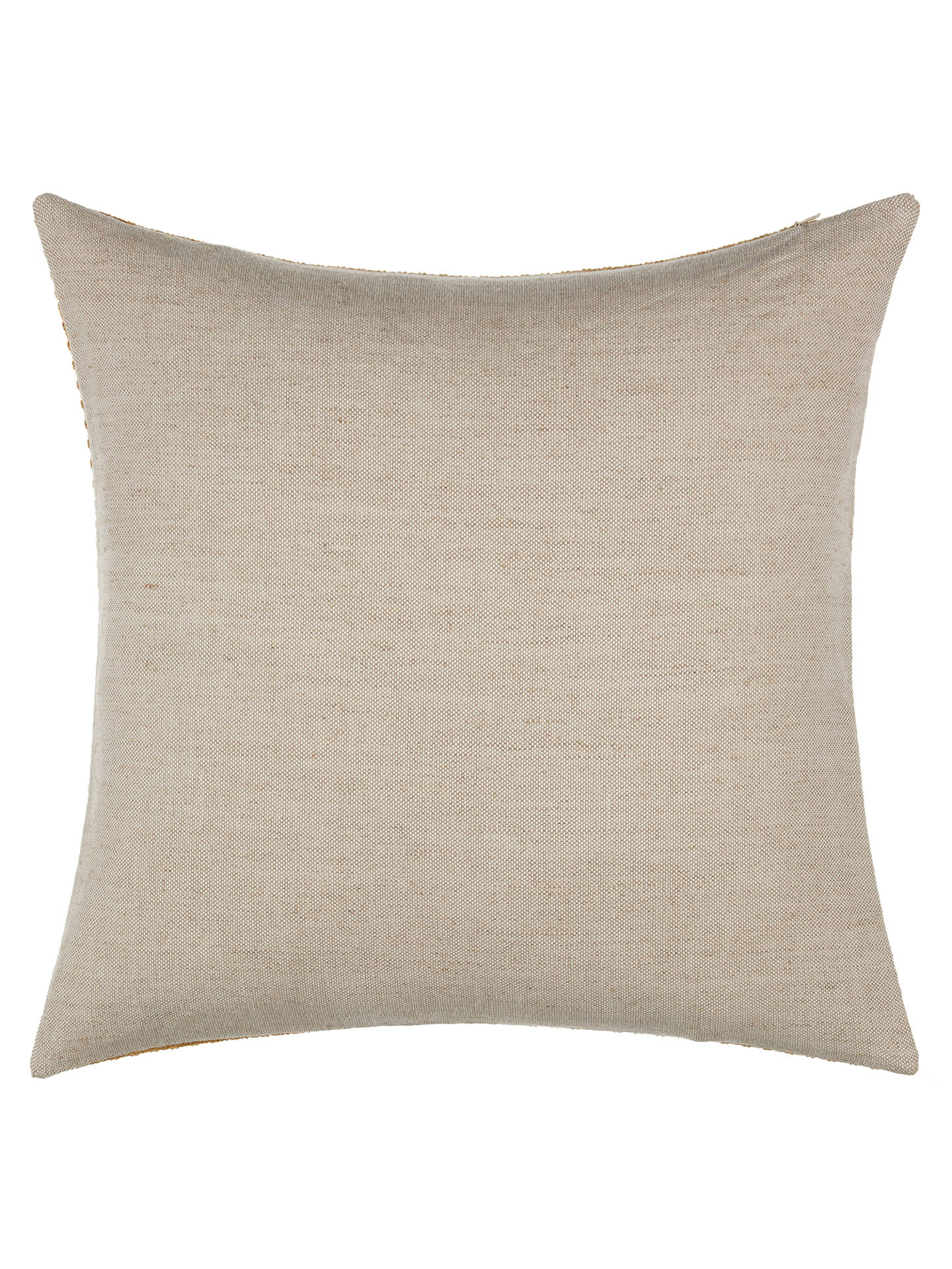 Buy Croft Collection Luce Cushion, Honey Online at johnlewis.com