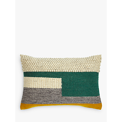 Design Project by John Lewis No.102 Evergreen / Mimosa Cushion