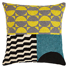 Buy John Lewis Tangent Crewel Cushion Online at johnlewis.com
