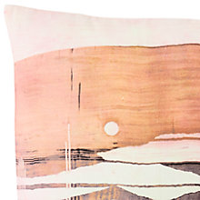 Buy west elm Desert Canyon Velvet Cushion Online at johnlewis.com