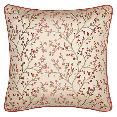 John Lewis Kendal Cushion, Coral