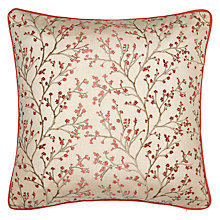 Buy John Lewis Kendal Cushion, Coral Online at johnlewis.com