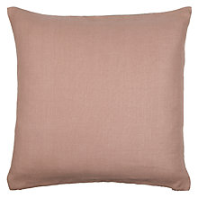 Buy John Lewis Herringbone Linen Cushion Online at johnlewis.com