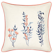 Buy John Lewis Longstock Cushion, Multi Online at johnlewis.com