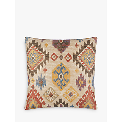 John Lewis Kelim Ikat Cushion, Multi