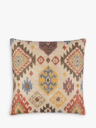 John Lewis & Partners Kelim Ikat Cushion, Multi