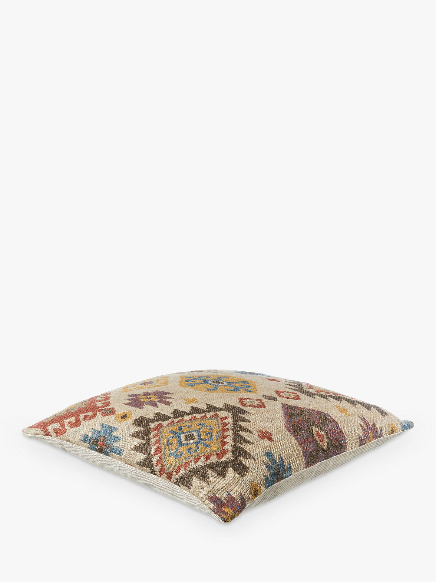 Buy John Lewis & Partners Kelim Ikat Cushion, Multi Online at johnlewis.com