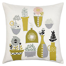 Buy John Lewis Plant Pots Cushion Online at johnlewis.com