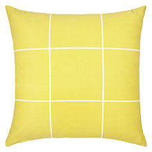 Buy House by John Lewis Grid Cushion Online at johnlewis.com