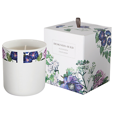 Designers Guild Alex Amethyst Scented Candle