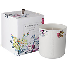 Buy Designers Guild Couture Rose Scented Candle Online at johnlewis.com