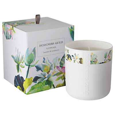 Designers Guild Nymphaea Scented Candle